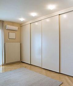 Schranksystem für Schlafzimmer