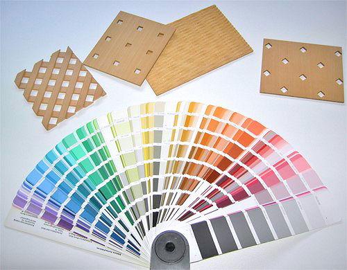 Schränke Farben und Formen